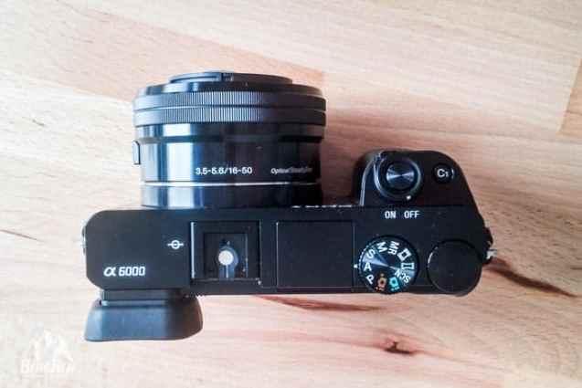 Systemkamera vs Spiegelreflex Sony A6000