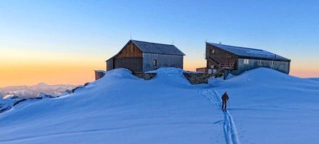 Alpenhütten Capanna Quintino Sella