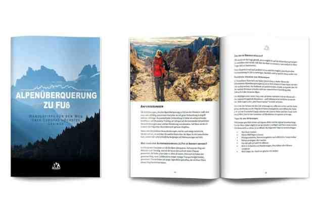 Alpenüberquerung zu Fuß E-Book Wandertipps