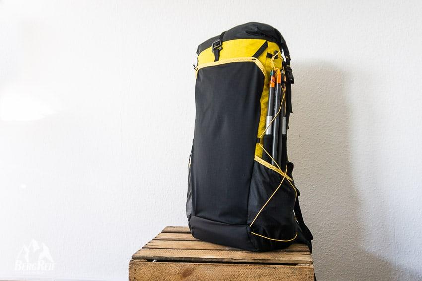 87ba10a716a50 ... Ripstop Nylons kann ein noch sehr viel leichterer Rucksack entstehen.  Welcher dann aber weniger haltbar und entsprechend empfindlicher ist.