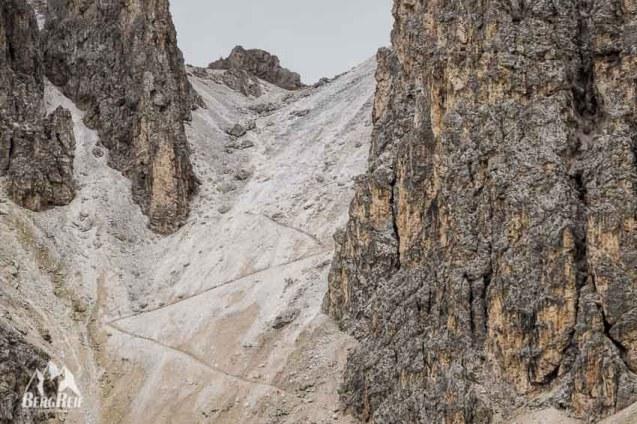 Gummenalp Wanderung Roa Scharte Winter
