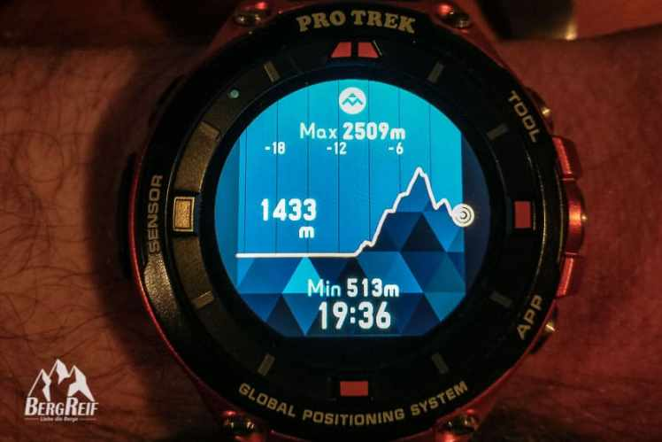 Casio Pro Trek Smart WSD F20 Test