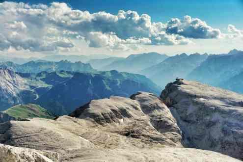 Dolomiten Durchquerung Wien Nizza wandern