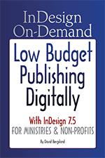 New release! InDesign On-Demand