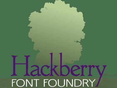 Hackberry Font Foundry logo