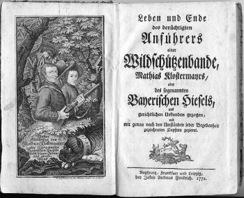 Old German Title Frontispiece