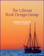 The 20-font Librum Book Design Publishing package