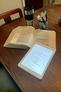 Offering free bible studies of the epistles