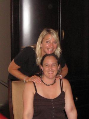 Jody Bergsma and Tara McKee