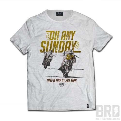 T-shirt Cafe On Any Sunday