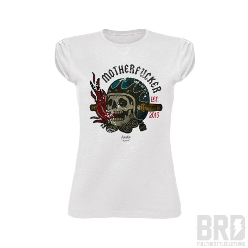 T-shirt Motherfucker Donna