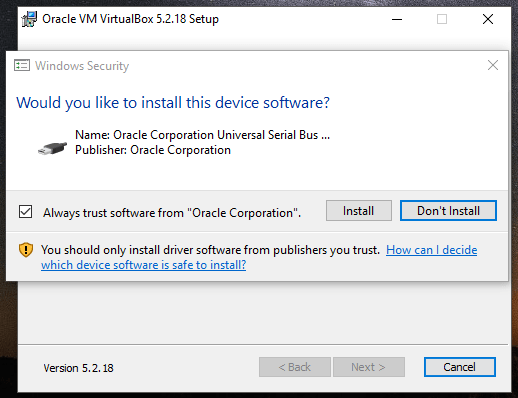 Install VirtualBox 5.2.18 di Windows 10-6