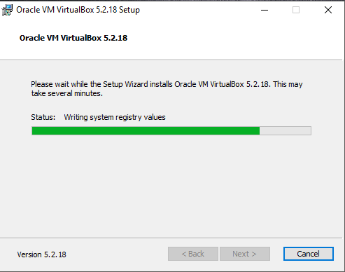 Install VirtualBox 5.2.18 di Windows 10-7