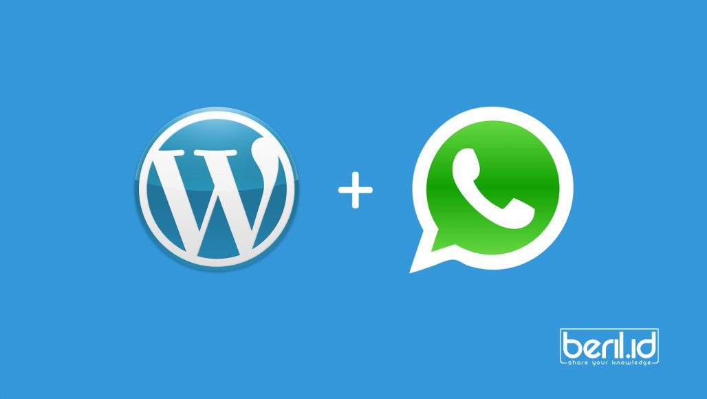 Cara Membuat Live Chat Whatsapp di Wordpress