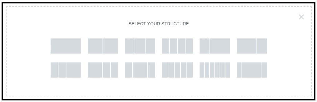 Select Your Structure