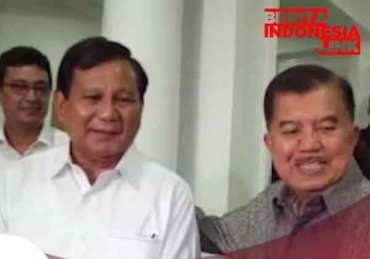 Prabowo dan Jusuf Kalla Bertemu dan Bicarakan Kondisi Pasca Pilpres 2019