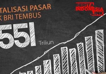 Kapitalisasi BRI capai Rp 551 Triliun, Sahamnya Tembus Rekor Tertinggi