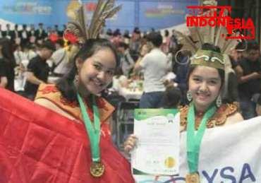 2 Siswi SMA Palangkaraya temukan Obat Kanker Payudara