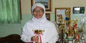 Siswi SDI Al-Hasanah, Ardelia Radya Cahaya Wati
