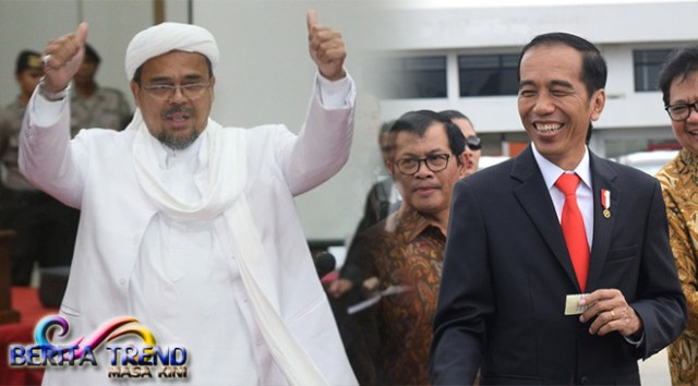 Muhammad Rizieq Shihab Jadi Calon Wakil Presiden Jokowi?