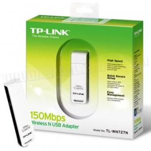 150Mbps Wireless N USB Adapter TL-WN727N