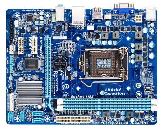 GA H61M DS1 Motherboard Gigabyte GA H61M DS2V Second Like News