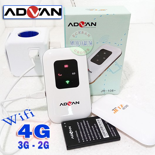 Modem Wifi Router 4G LTE Mifi JR 108  Advan Advance JR 108 P Modem Mi Fi Advan JR 108F