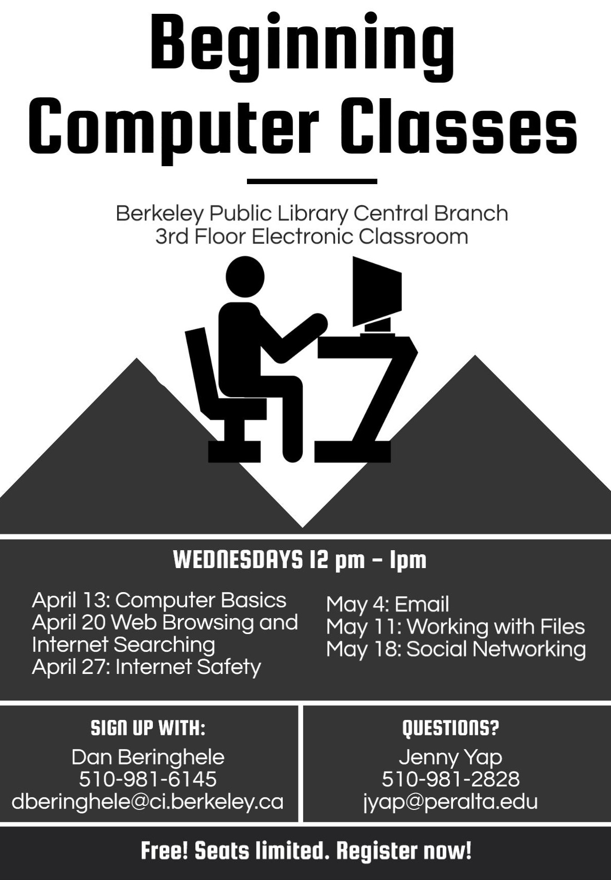 Free Beginning Computer Classes Library