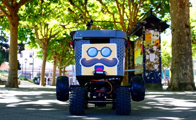 Kiwi Uses Robots To Deliver Food To Hungry Uc Berkeley