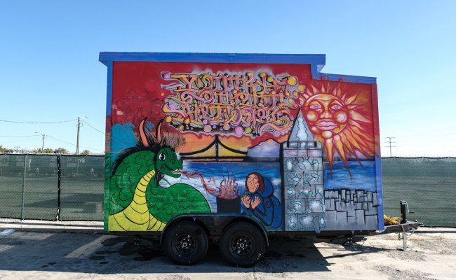 Berkeley Nonprofit Puts Finishing Touches To Colorful