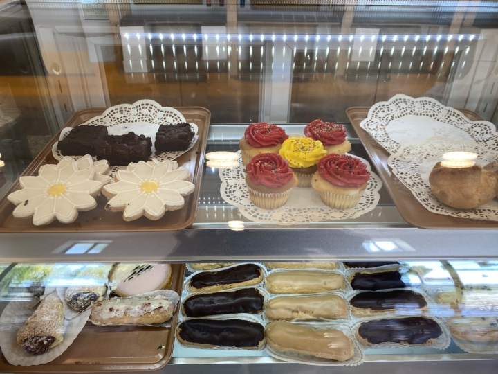 The pastry case at La Dolce Vita on Telegraph Avenue in Temescal. Credit: Sarah Han