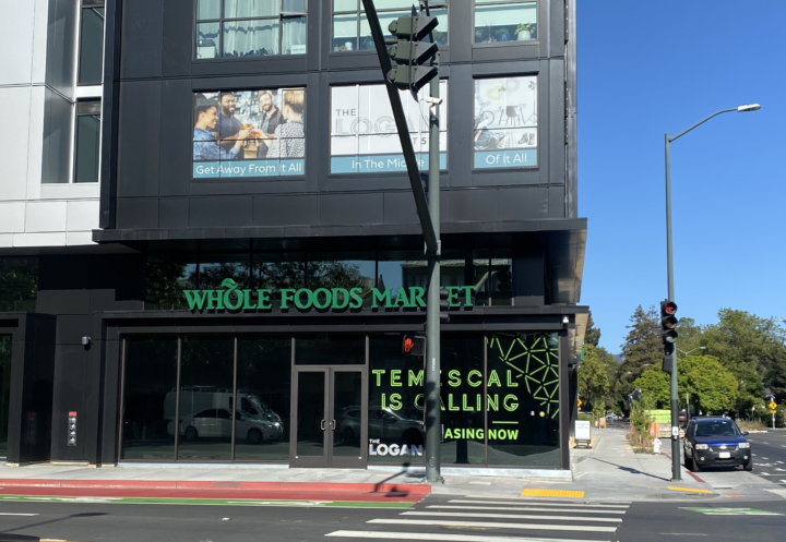 Whole Foods on the corner of Telegraph Avenue and 51st Street in Temescal, Oakland.