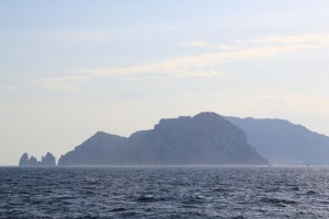 Amalfi - Capri from Boat
