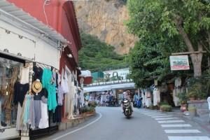 Amalfi - Positano Street Traffic