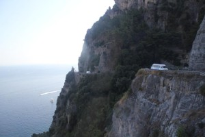 Amalfi coastal road 2