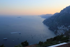 Amalfi - view from the road