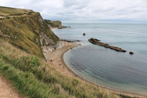 Jurassic Coast - View from Durdle Door East
