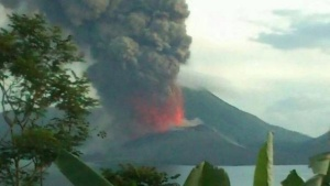 PNG rabaul eruption