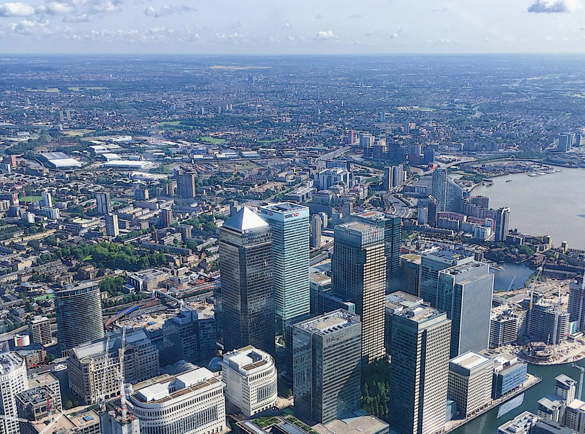 Vertical sightseeing over London with The London Helicopter – A fabulous experience