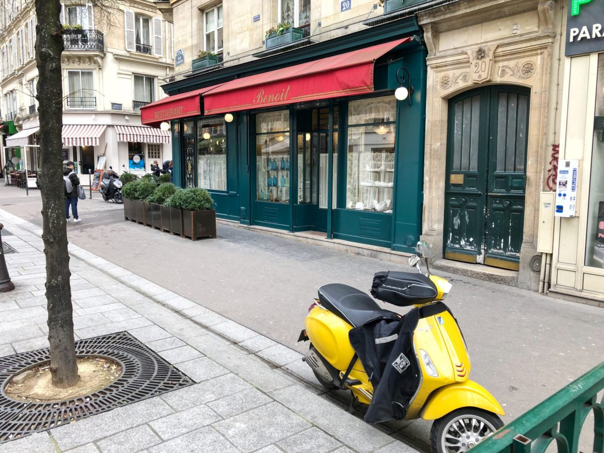Michelin-Starred Restaurant Benoit, Paris - our Review