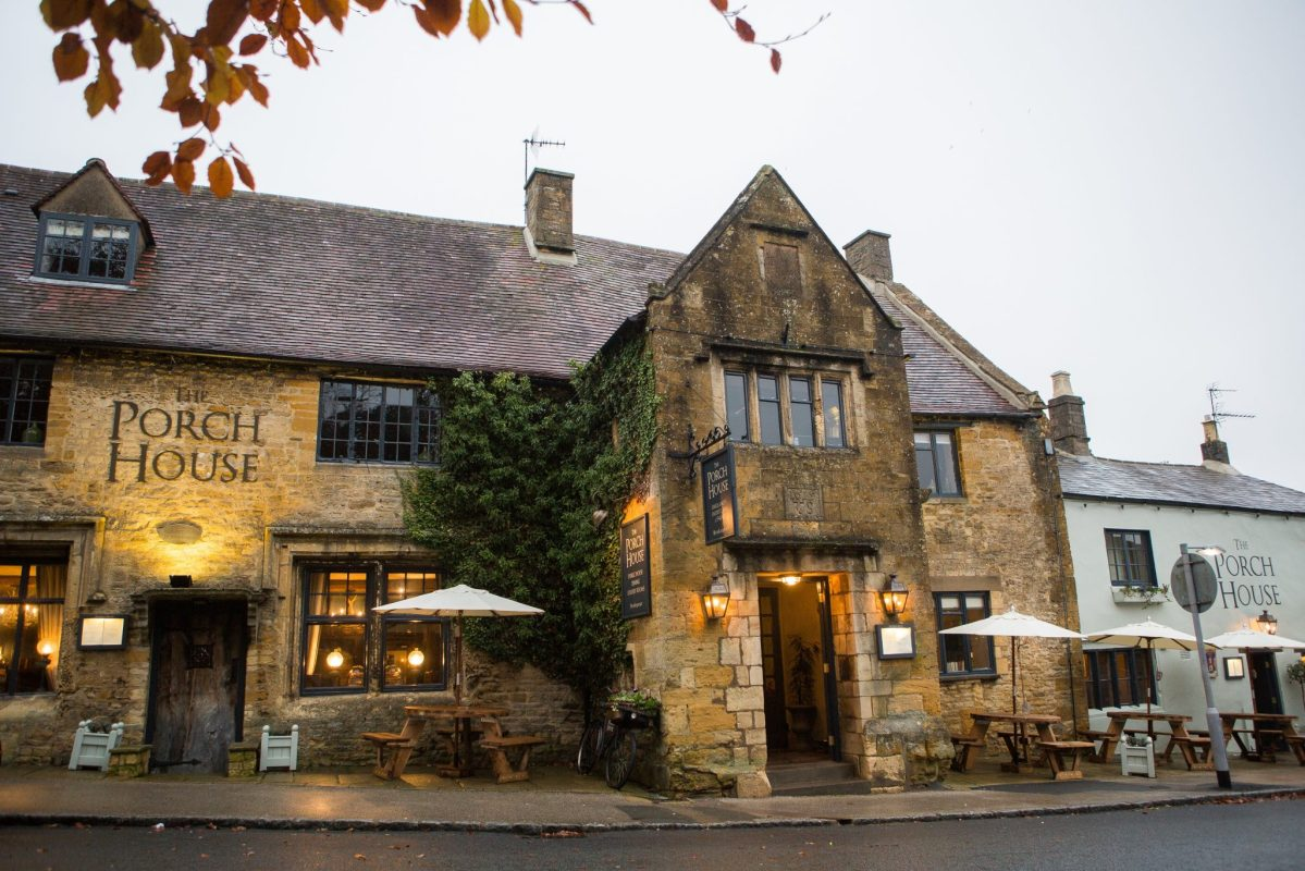 The Porch House, Stow – Fabulous Food at England's Oldest Inn