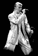 Bowie during 'Isolar II – The 1978 World Tour'