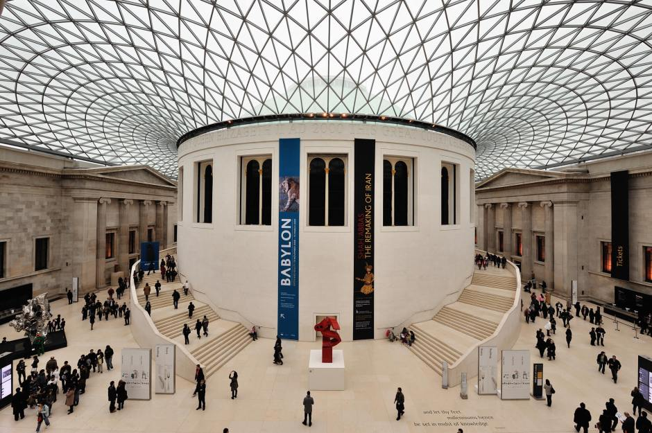 The British Museum has a hidden gem that can only be seen from the inside.