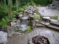waterfall landscaping | Waterfalls