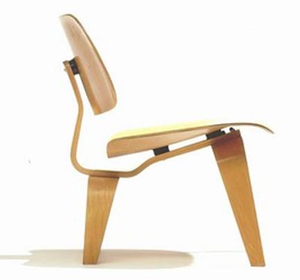 potato chip chair eames collins barber parts the iconic plywood leg splint - berkshire fine arts
