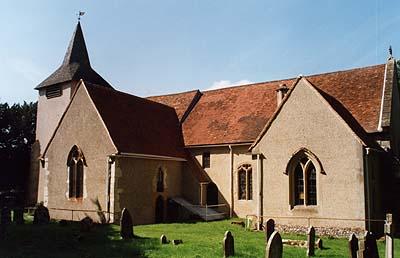 St. Mary's Church, Aldermaston - © Nash Ford Publishing