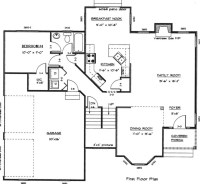 First Floor Plan & Second Floor Plan