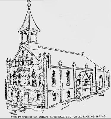 A Brief History of Saint John's Evangelical Lutheran