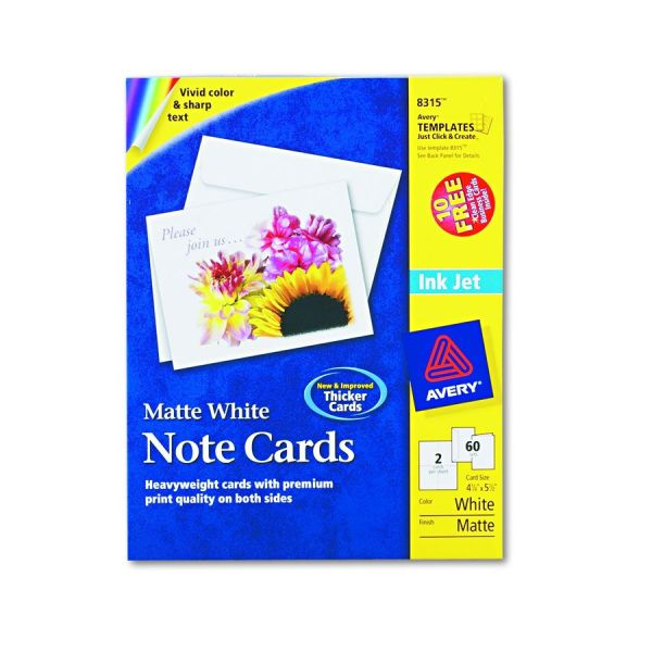 Avery-dennison Inkjet Matte Printing Label - Ij Color 3.33 X4 Pack Of 120 Model 8254