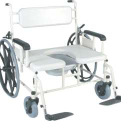 Bariatric Transport Chair 24 Seat Desk Platform Medline Convaquip Shower 750 Lb Weight